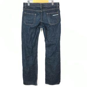 prada classic fit men jeans 34 X 34 Blue